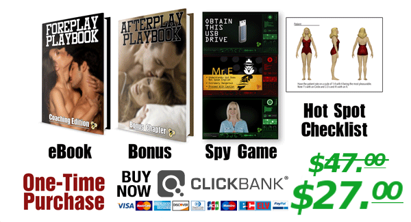 Buy the Foreplay Playbook with Bonus Content Click Bank Link